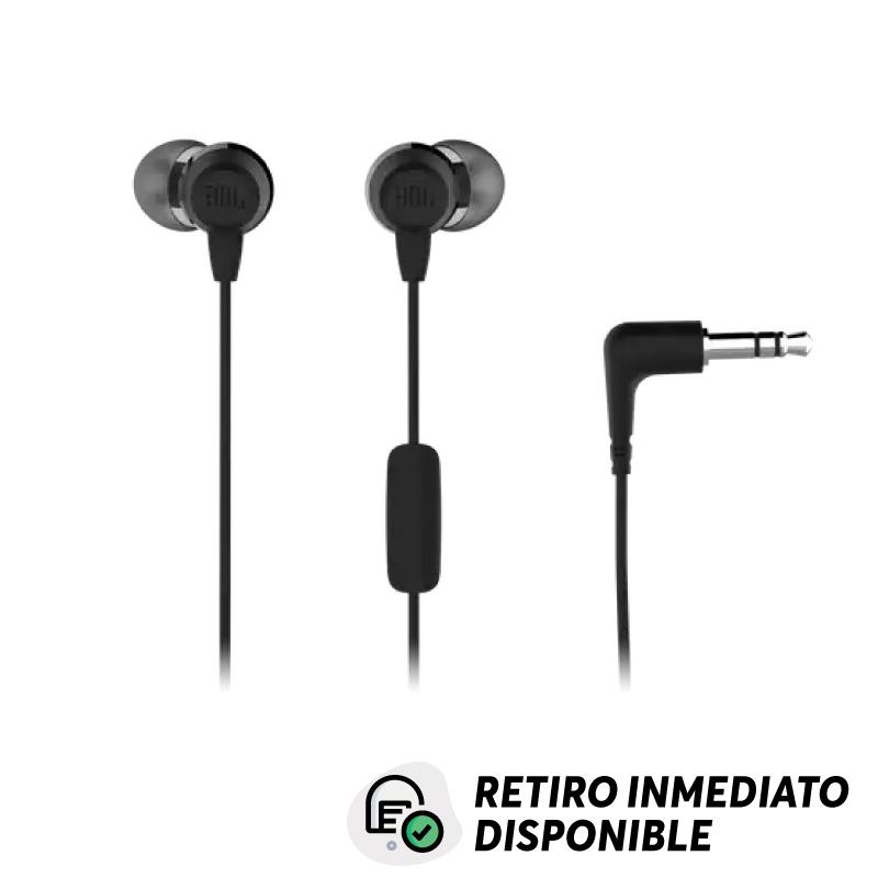 Audífonos JBL C50Hi, Cableado, Interno, Negro