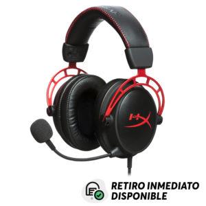 Audifonos Gamer HYPERX Cloud Alpha para PC, PS4, Xbox One