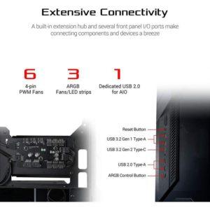 Asus Gr101 Rog Z11 Case/Blk GR101-ROG-Z11-CASE/BLK