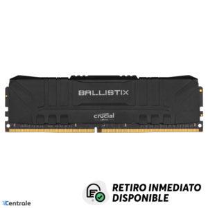 Memoria RAM 8GB 3600MHz DDR4 Crucial Ballistix Black CL16