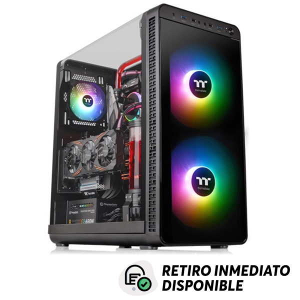 Gabinete Gamer Thermaltake View 37 ARGB Edition Mid-Tower Chassis