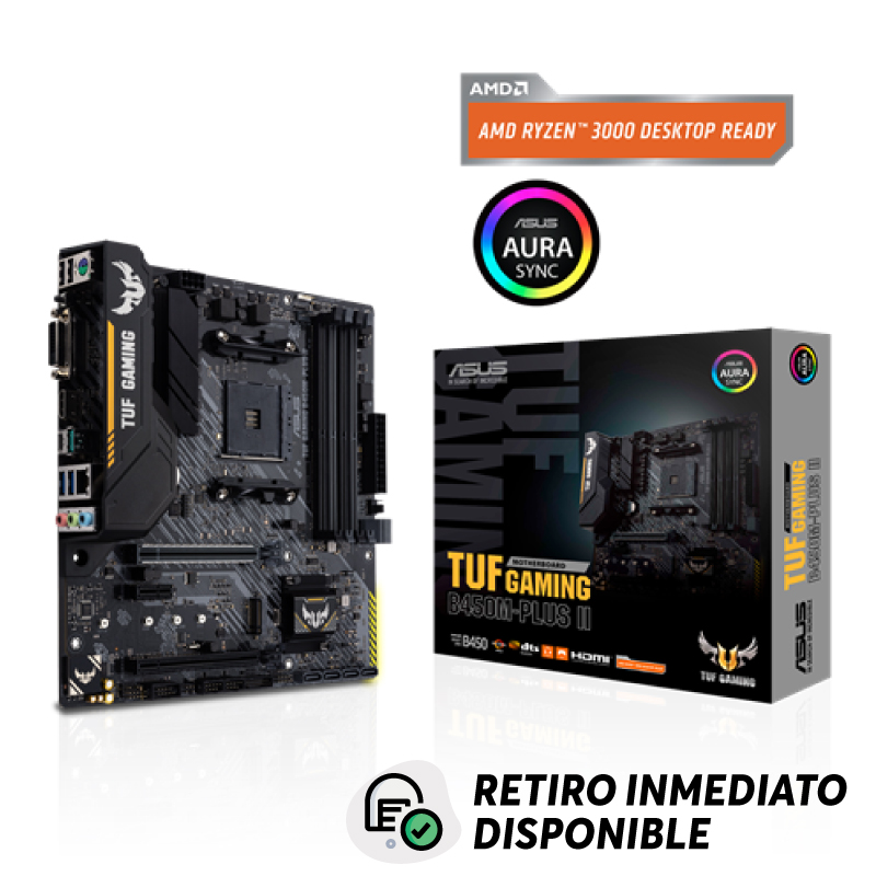 Placa Madre ASUS TUF Gaming AMD B450M (AM4) Micro ATX