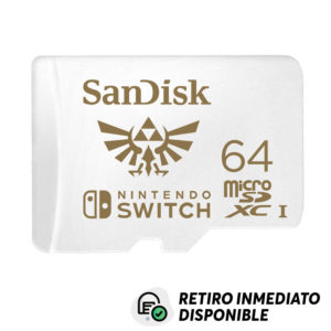 MicroSDXC 64 GB SanDisk Nintendo Switch