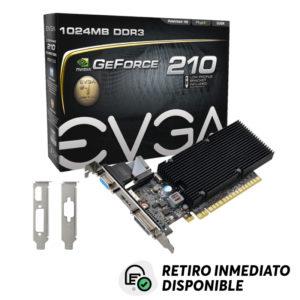 Tarjeta De Video EVGA GeForce GT210 1GB DDR3