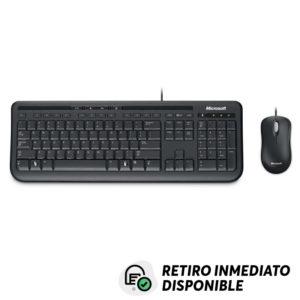 Kit Teclado y Mouse Alámbrico Microsoft 600 USB