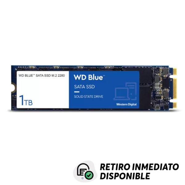 Disco SSD 1TB Western Digital Blue PCIe M.2 2280