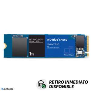 Disco SSD NVMe 1TB WD Blue SN550 PCIe M.2 2280