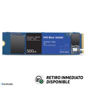 Disco SSD NVMe 500GB WD Blue SN550 PCIe M.2 2280