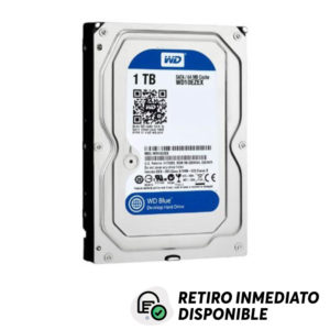 "Disco Duro 1TB WD Blue 3.5"" SATA 6 Gb/s 7200RPM 64MB"