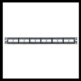 1. Panduit Rack Panel CPP24WBLY panduit
