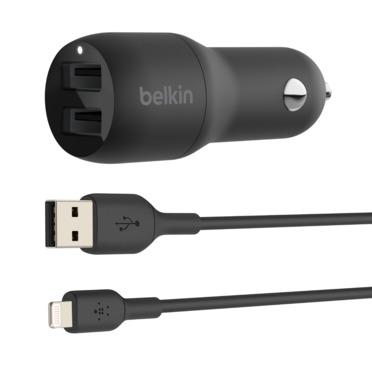 1. Belkin Dual Charger CCB001BTBK belkin