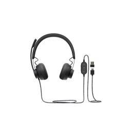 1. Audífonos Con Micrófono 981-000871 logitech