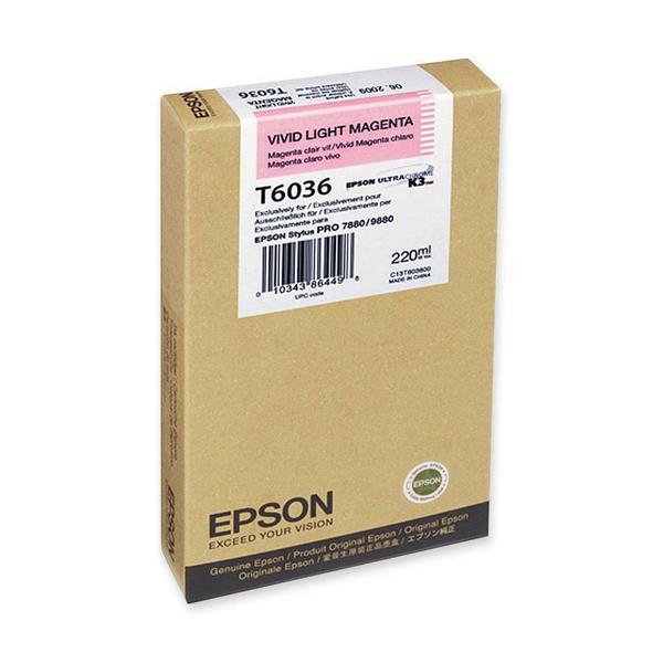 1. Epson Tinta Magenta T603600 epson