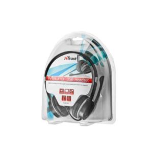 4. Mauro USB Headset 17591 trust
