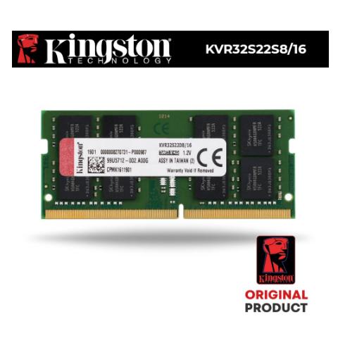 1. Kingston 16Gb 3200Mhz KVR32S22D8/16 kingston