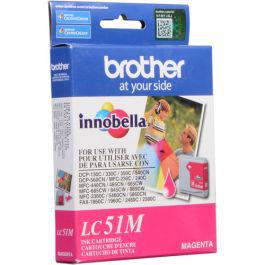 1. Brother Magenta Original LC51M brother