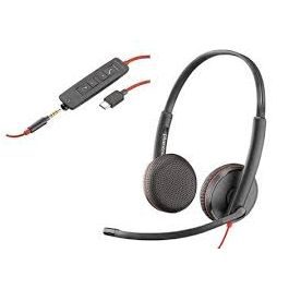 1. Poly Auriculares Blackwire 213938-01 poly