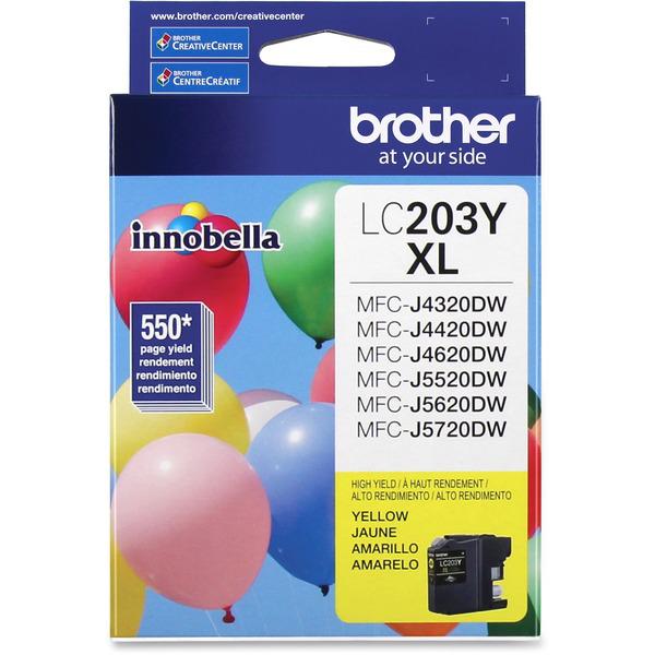 1. Brother Alto Rendimiento LC203Y brother