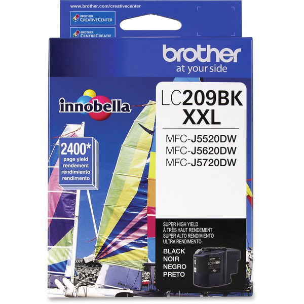 1. Cartridge Brother -Mfc-J5620 LC209BK brother