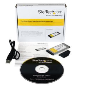 5. Startech Tarjeta Expresscard ECUSB3S11 startech