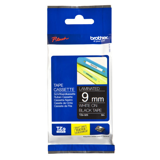 1. Brother 9Mm White TZE-325 brother