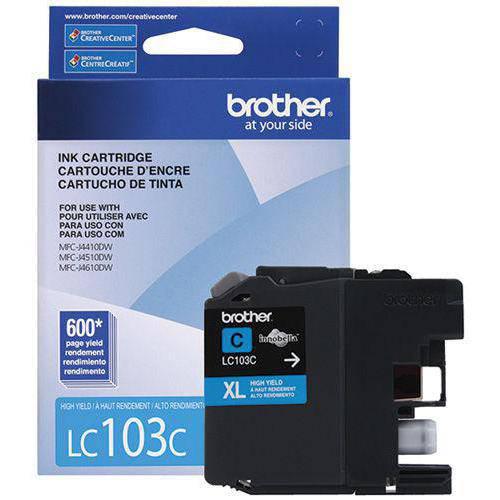 1. Brother CARTUCHO DE LC-103C brother