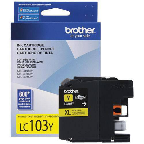 1. Brother CARTUCHO DE LC-103Y brother