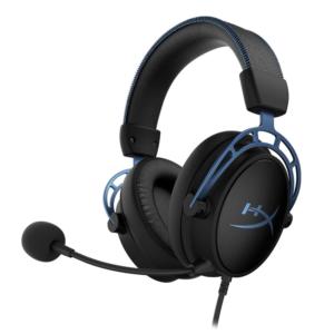 1. Audifono Gamer Hyperx HX-HSCAS-BL/WW hyperx