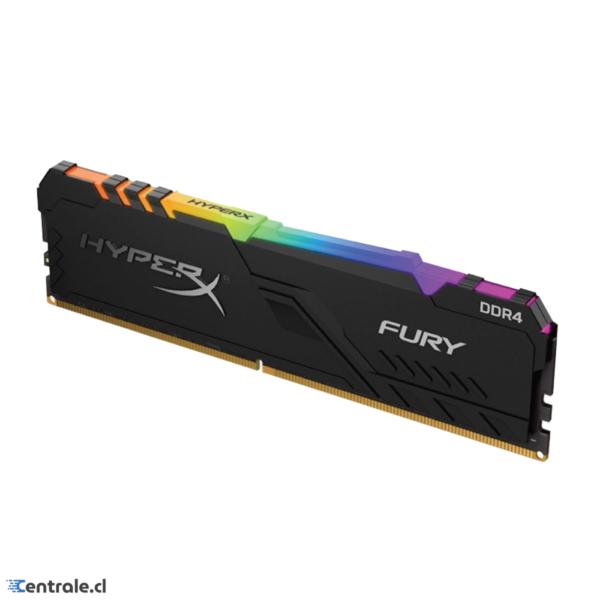 Memoria RAM 8GB 3200MHz DDR4 HyperX Fury RGB CL16