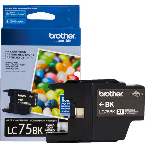 1. Brother LC-75BK - LC75BK brother