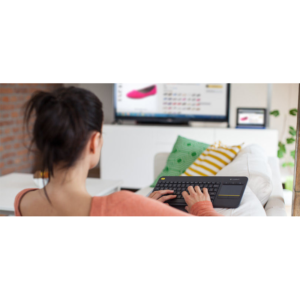 3. Teclado Wireless Touch 920-007123 logitech