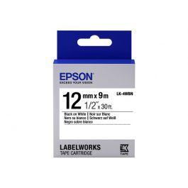 1. Epson Labelworks Cinta LK-4WBN epson
