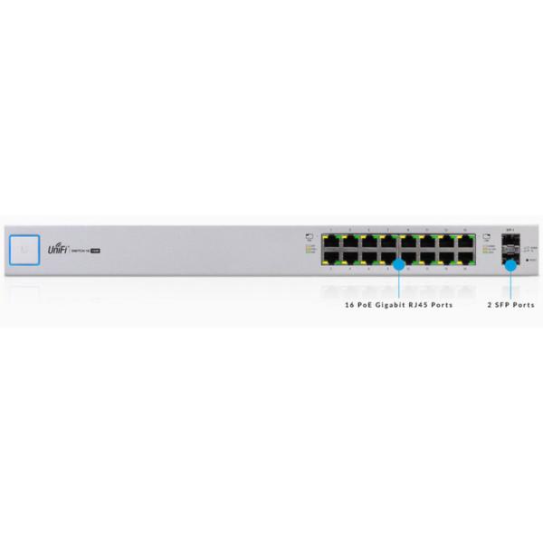1. Switch Ubiquiti Unifi US-16-150W ubiquiti