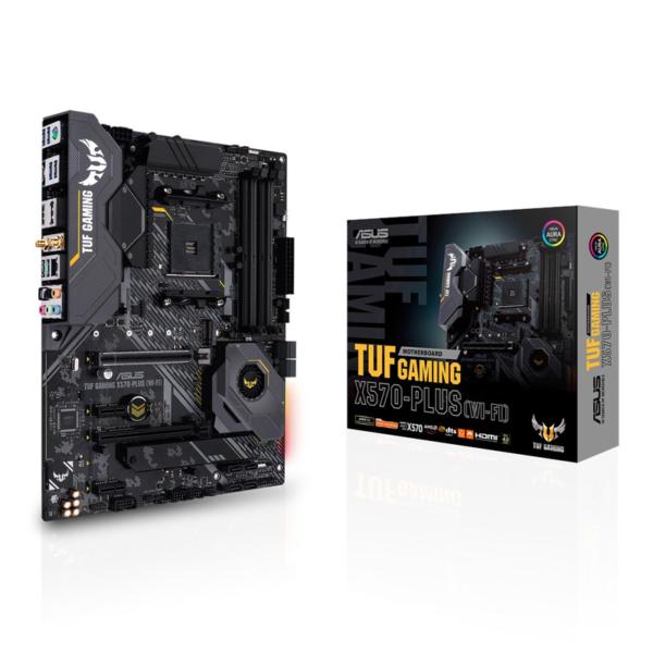 1. Asus Tuf Gaming TUF-GAMINGX570-PLUS-WI-FI asus