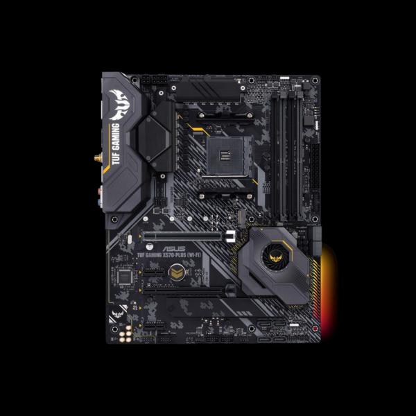 2. Asus Tuf Gaming TUF-GAMINGX570-PLUS-WI-FI asus