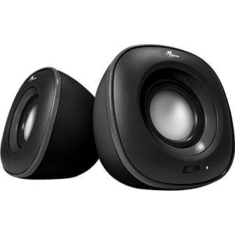 Xtech Speakers 2.0-Channel 6W Wired XTS-115BK