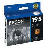 Epson T195 Cartucho De Tinta Negro Original T195120-AL