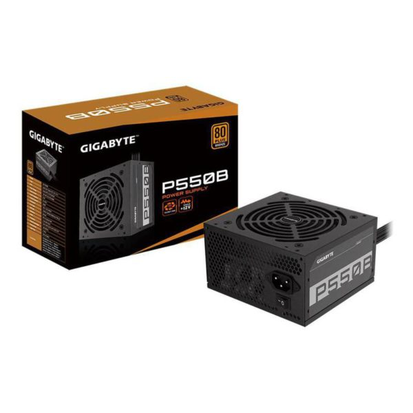 Gigabyte Fuente De Poder P550B -550W 80 Plus Bronze GP-P550B