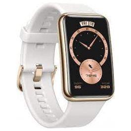Huawei Watch Fit Smart Watch Frosty White Elegant Edition 55026331