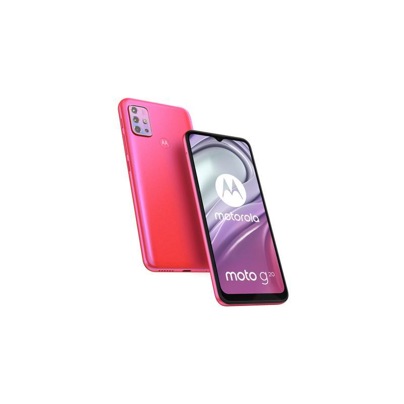 Motorola Moto G20 Smartphone Android Pink Flamingo PANG0047CL