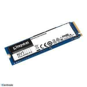 Disco SSD NVMe 500GB Kingston NV1 PCIe 3.0 M.2 2280 SNVS/500G