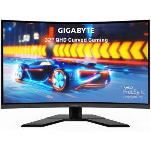 Gigabyte G32Qc A-Sa Led-Backlit Lcd Monitor Curved Screen G32QCA-SA