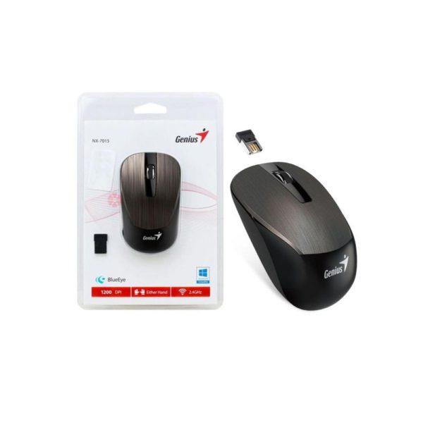 Genius Mouse Inalámbrico , Bluetooth, 3 Botones, Chocolate 31030019401