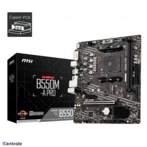 Placa Madre MSI B550M A-PRO PCIe 4.0 Lightning Gen B550M-A-PRO