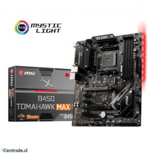 Placa Madre MSI AMD AM4 B450 TOMAHAWK MAX II B450-TOMAHAWK-MAX-II