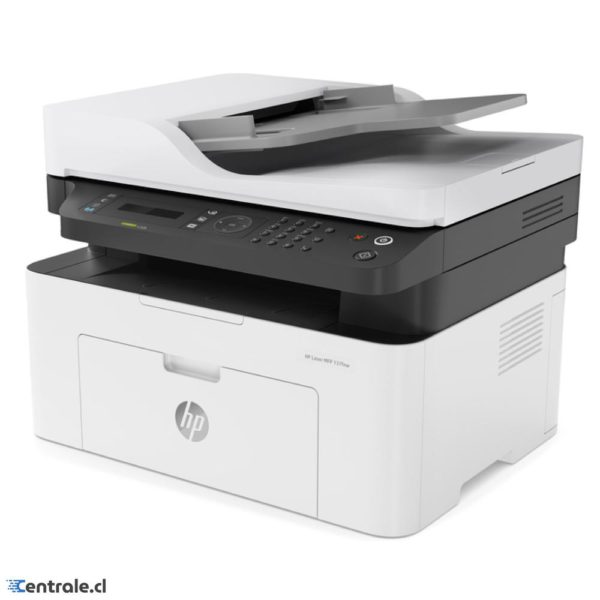 Impresora Multifuncional Láser HP 137Fnw, Hasta 20 ppm A4 4ZB84A