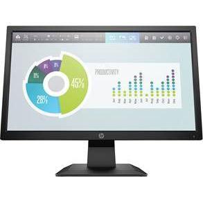 "Hp P204 Led-Backlit Lcd Monitor 19.5"" 1600 X 900 Tn Hdmi 5RD66AA"