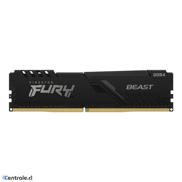 Memoria RAM 16GB 2666Mhz Kingston Fury Beast DDR4 CL16 KF426C16BB1/16