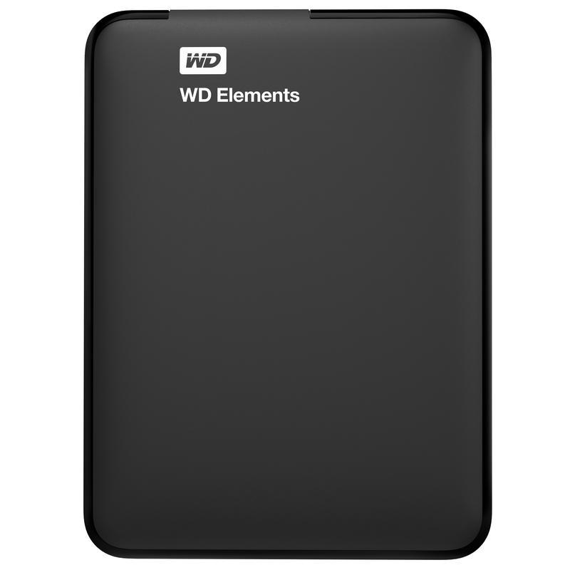 Western Digital Disco Duro 4 Tb 1| Portatil Wd Elements WDBU6Y0040BBK-WESN