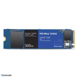 Disco SSD NVMe 500GB WD Blue SN550 PCIe M.2 2280 WDS500G2B0C